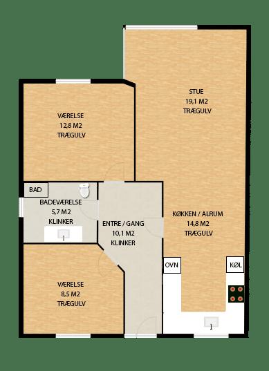 Type A hus